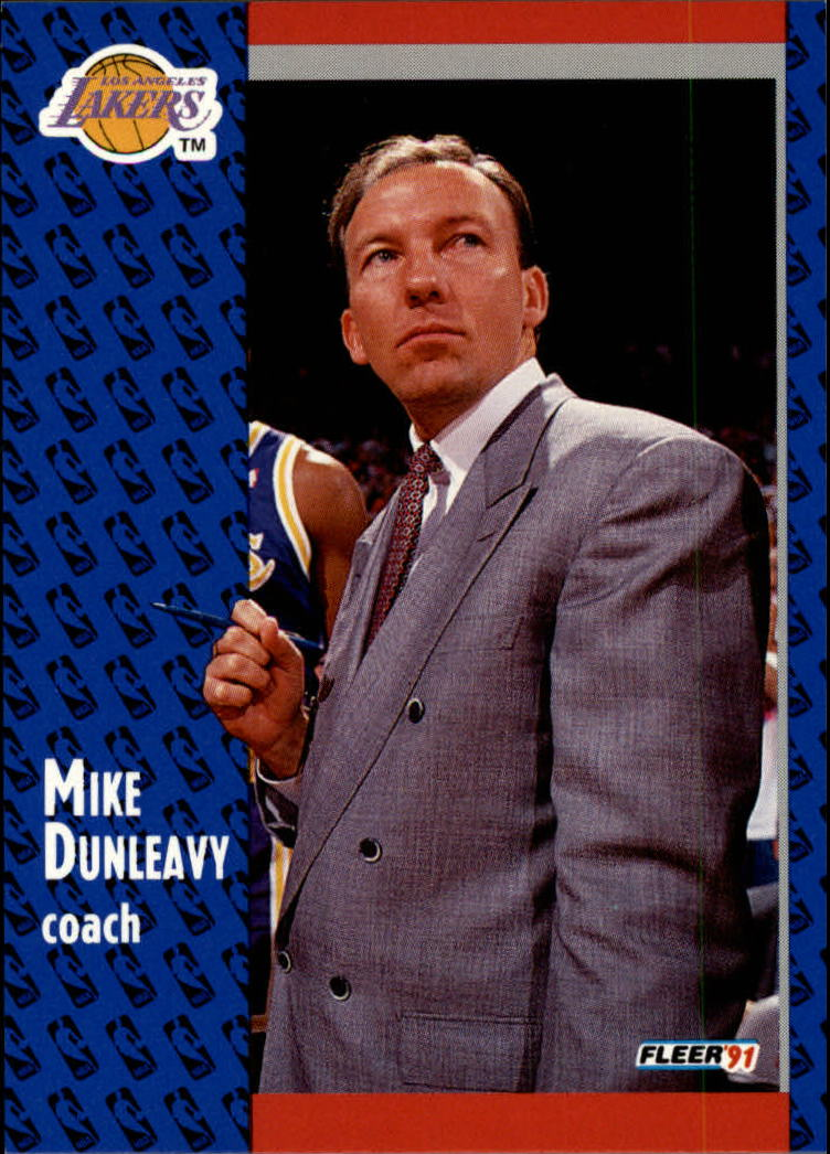 1991-92 Fleer #98 Mike Dunleavy CO