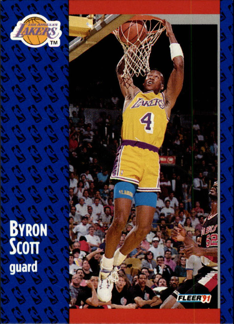 1991-92 Fleer #102 Byron Scott