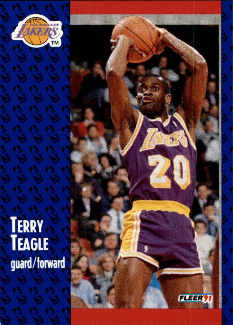 1991-92 Fleer #103 Terry Teagle