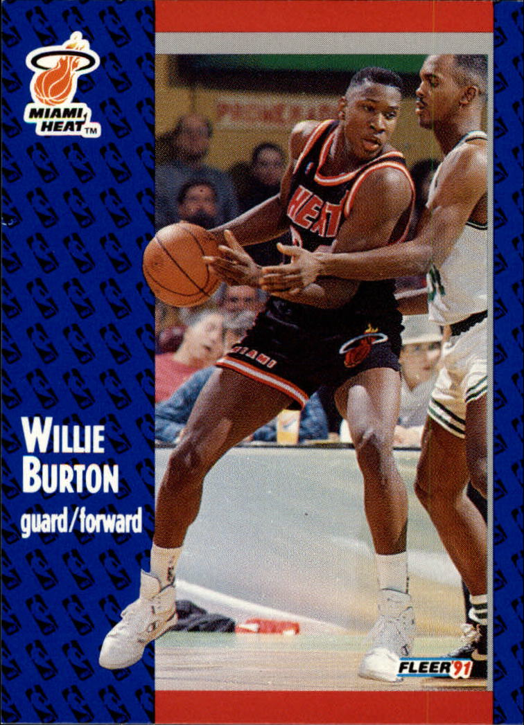 1991-92 Fleer #105 Willie Burton