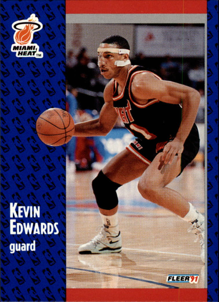 1991-92 Fleer #108 Kevin Edwards