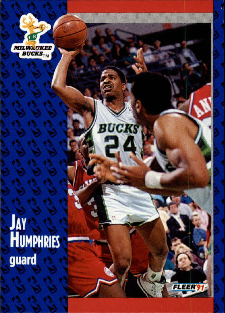 1991-92 Fleer #116 Jay Humphries