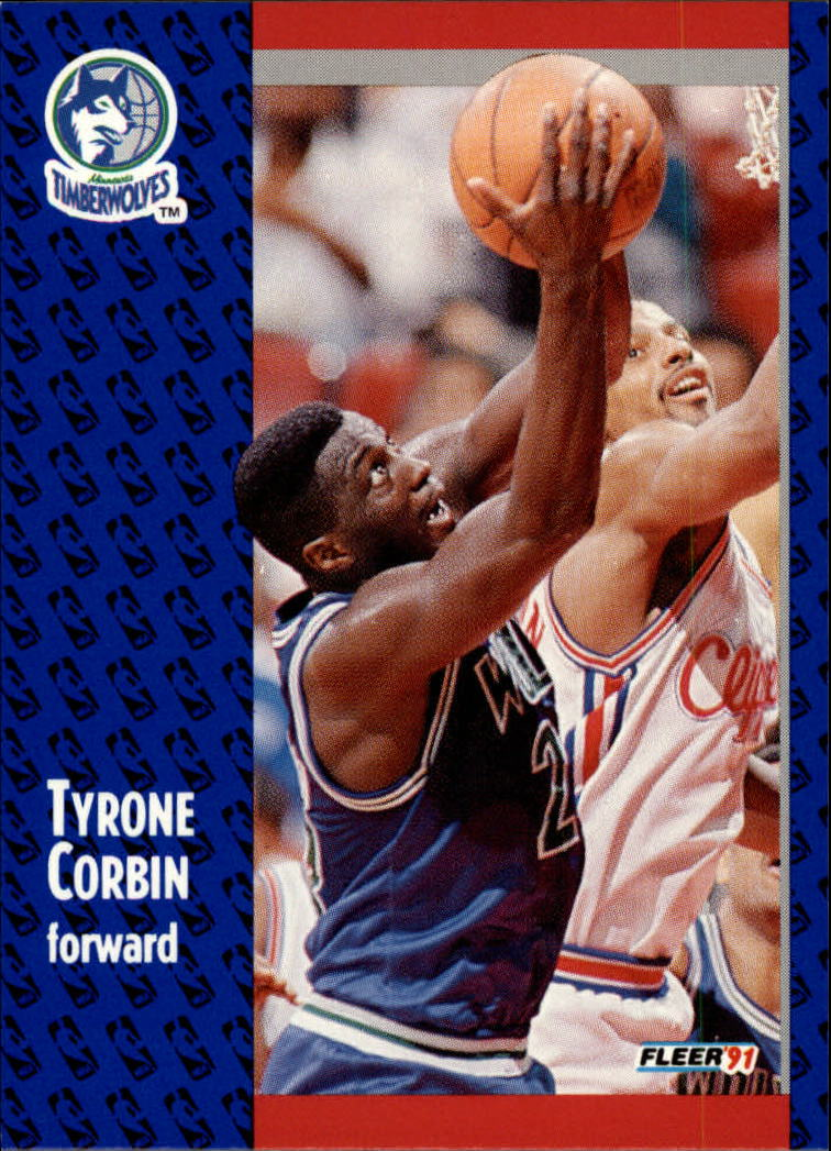 1991-92 Fleer #122 Tyrone Corbin