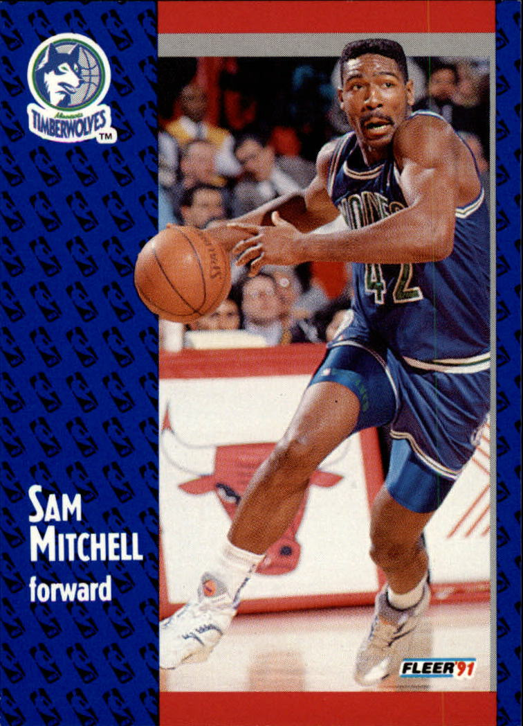 1991-92 Fleer #123 Sam Mitchell