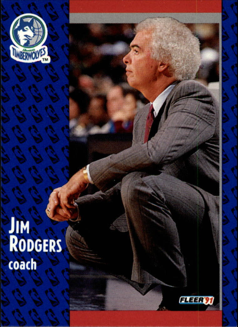 1991-92 Fleer #126 Jimmy Rodgers CO
