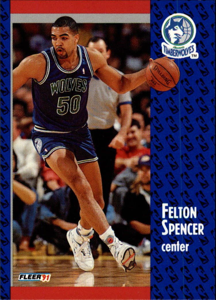 1991-92 Fleer #127 Felton Spencer