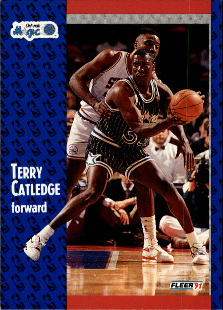 1991-92 Fleer #144 Terry Catledge