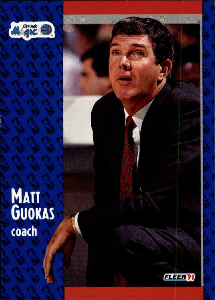1991-92 Fleer #145 Matt Guokas CO