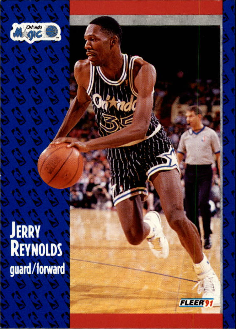 1991-92 Fleer #146 Jerry Reynolds