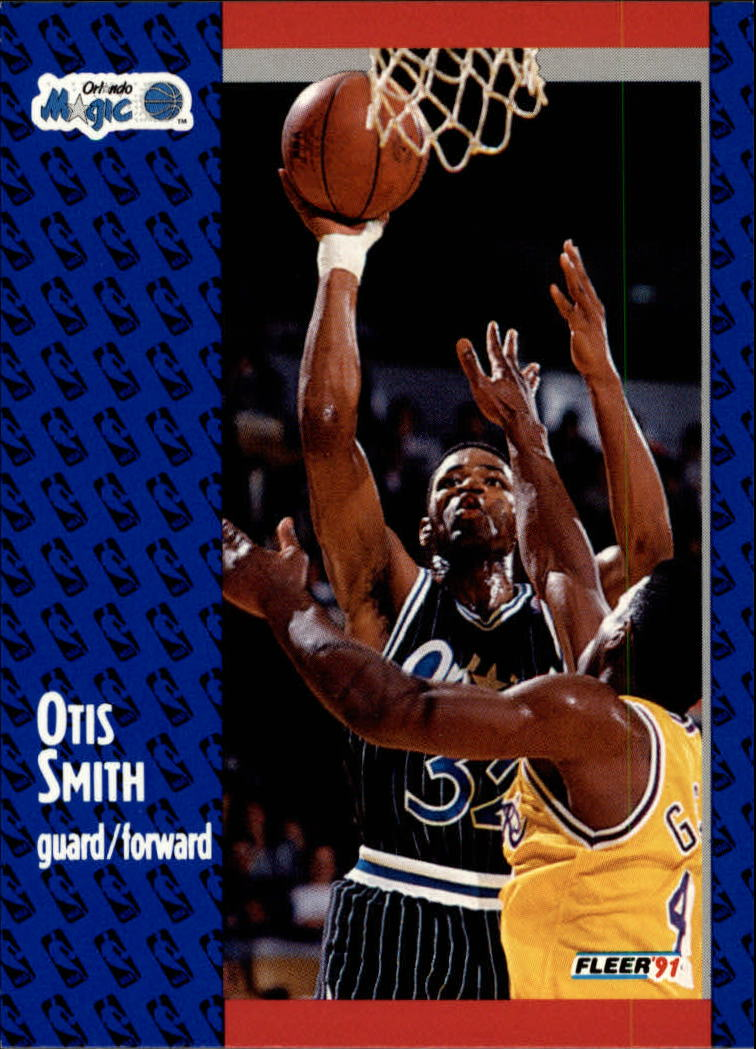 1991-92 Fleer #149 Otis Smith