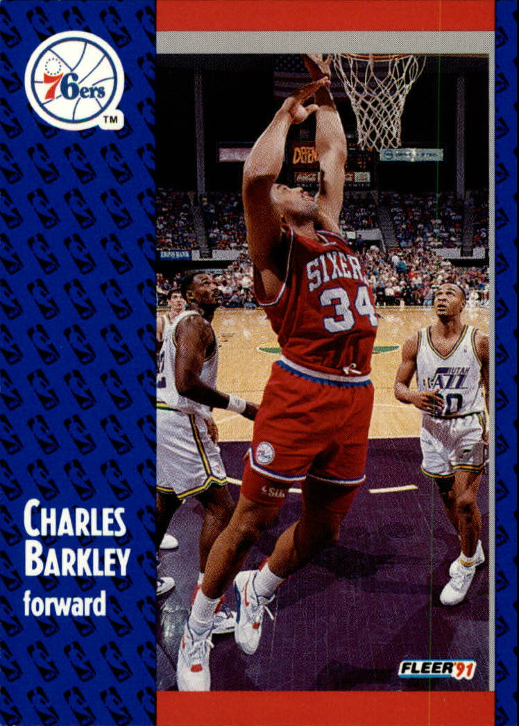1991-92 Fleer #151 Charles Barkley