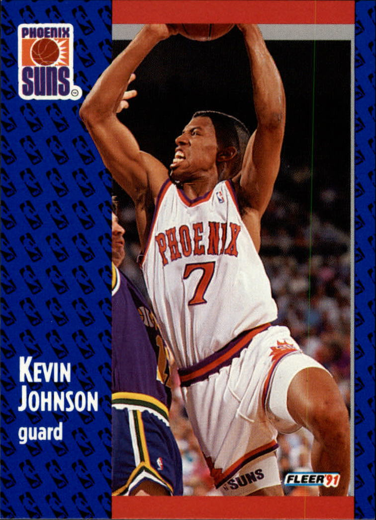 1991-92 Fleer #161 Kevin Johnson