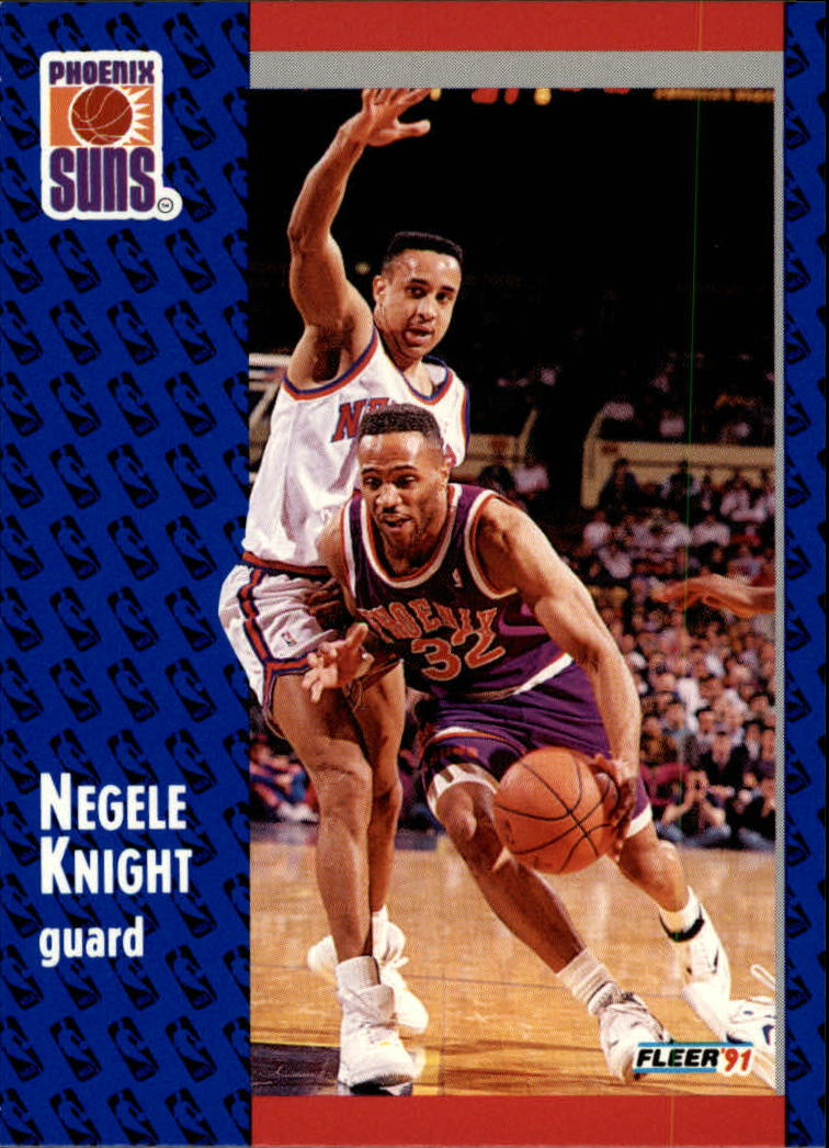 1991-92 Fleer #162 Negele Knight