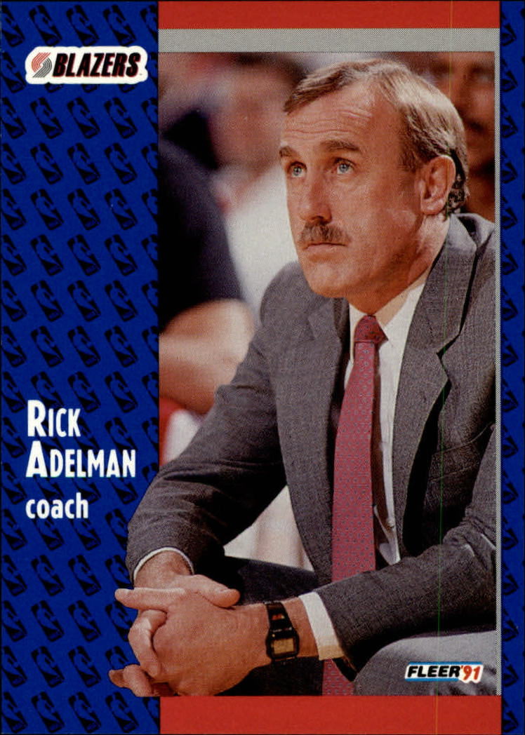 1991-92 Fleer #166 Rick Adelman CO