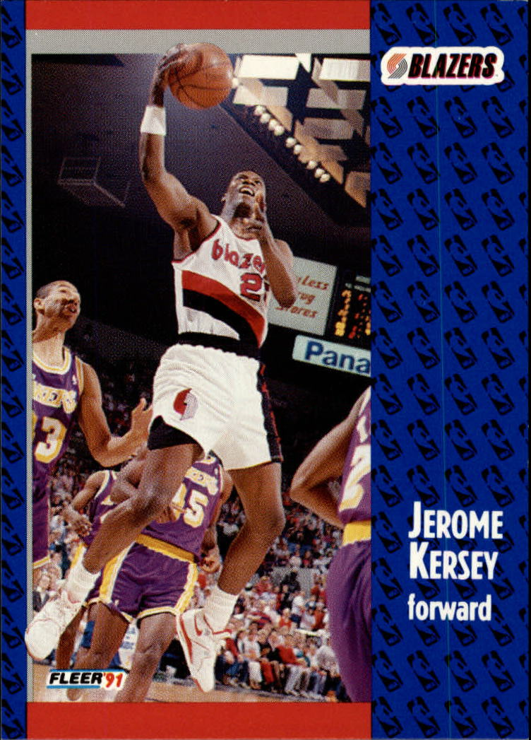 1991-92 Fleer #170 Jerome Kersey