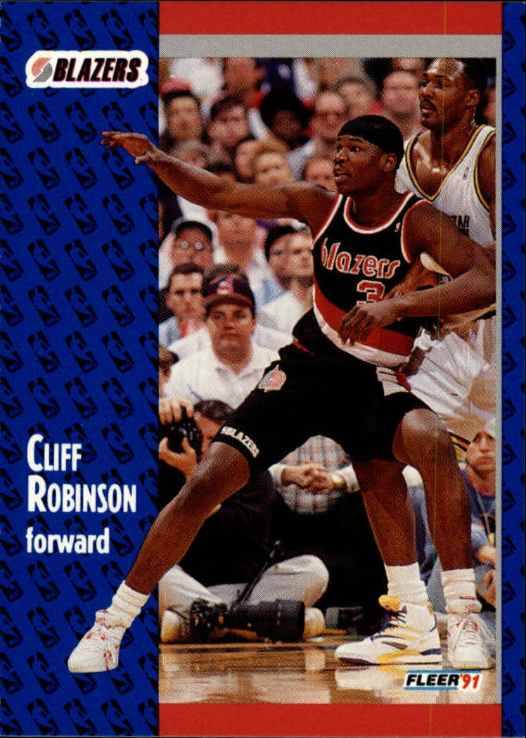 1991-92 Fleer #172 Clifford Robinson
