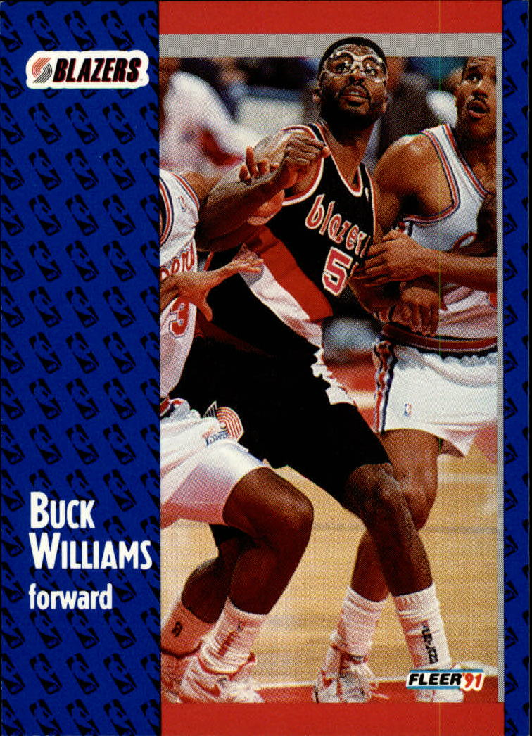 1991-92 Fleer #173 Buck Williams