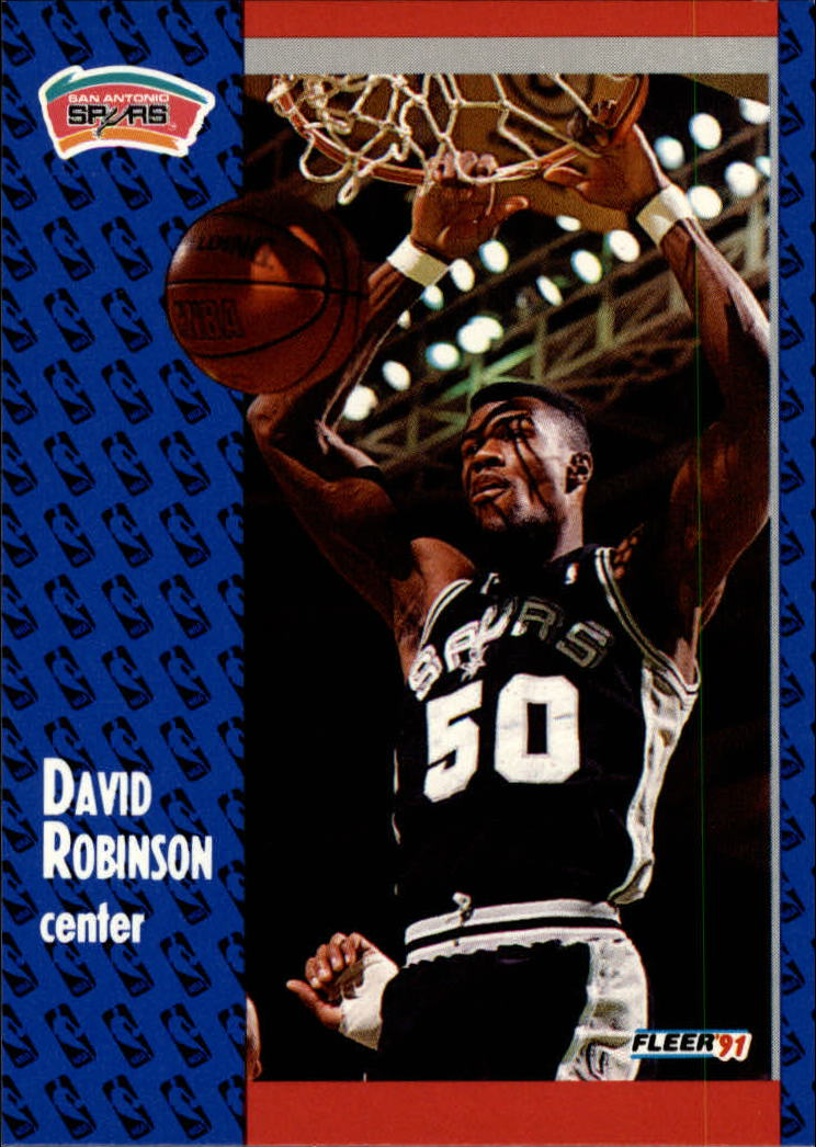 1991-92 Fleer #187 David Robinson