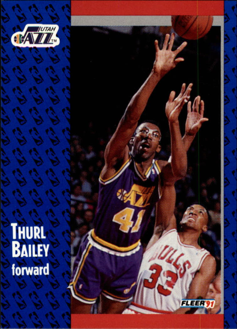 1991-92 Fleer #197 Thurl Bailey