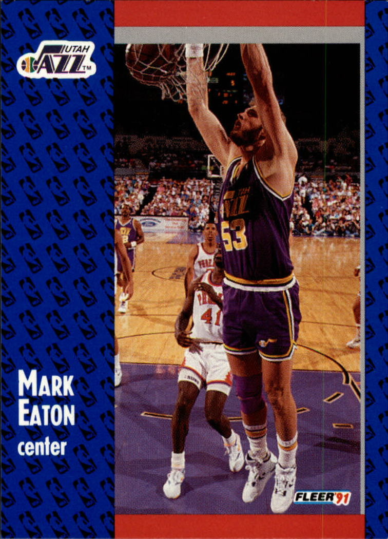 1991-92 Fleer #198 Mark Eaton