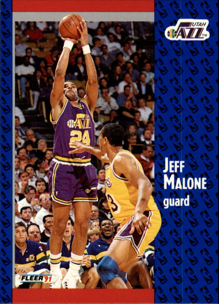 1991-92 Fleer #200 Jeff Malone