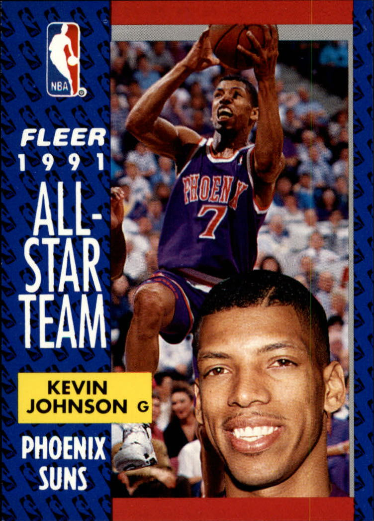 1991-92 Fleer #210 Kevin Johnson AS