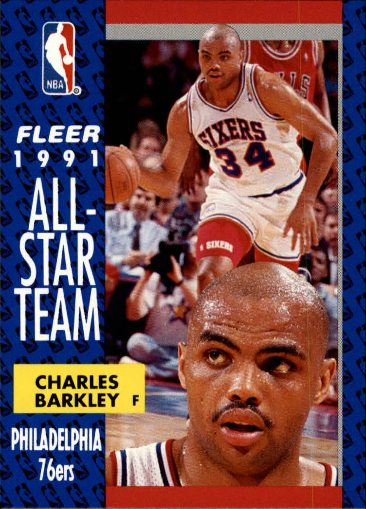 1991-92 Fleer #213 Charles Barkley AS