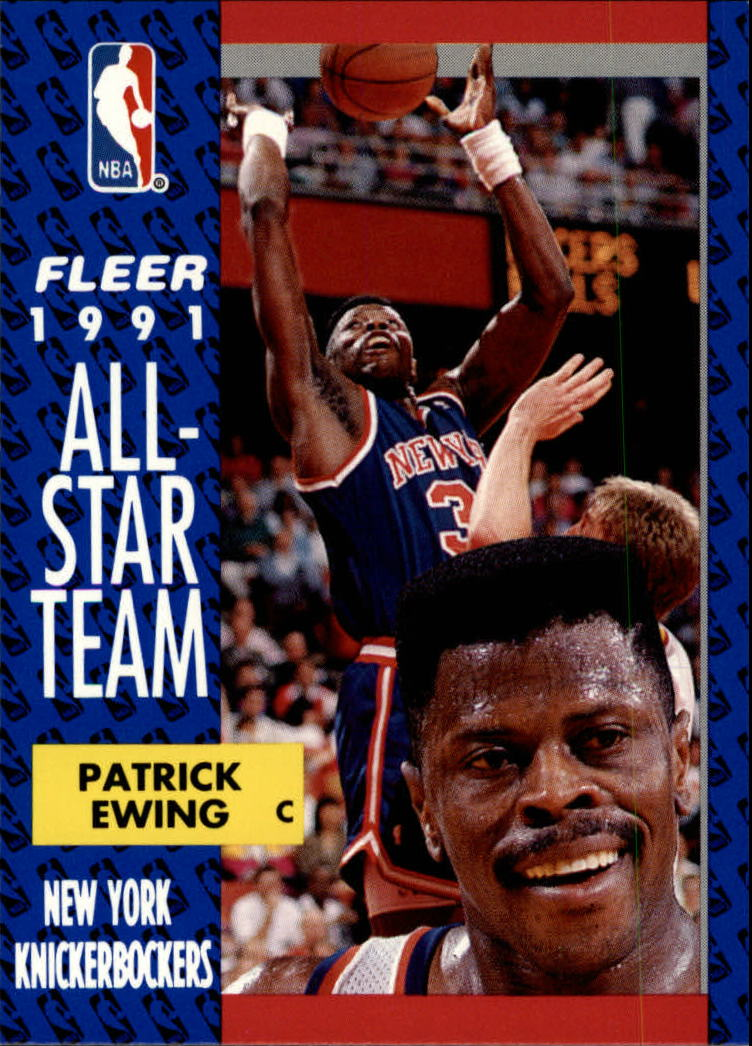 1991-92 Fleer #215 Patrick Ewing AS