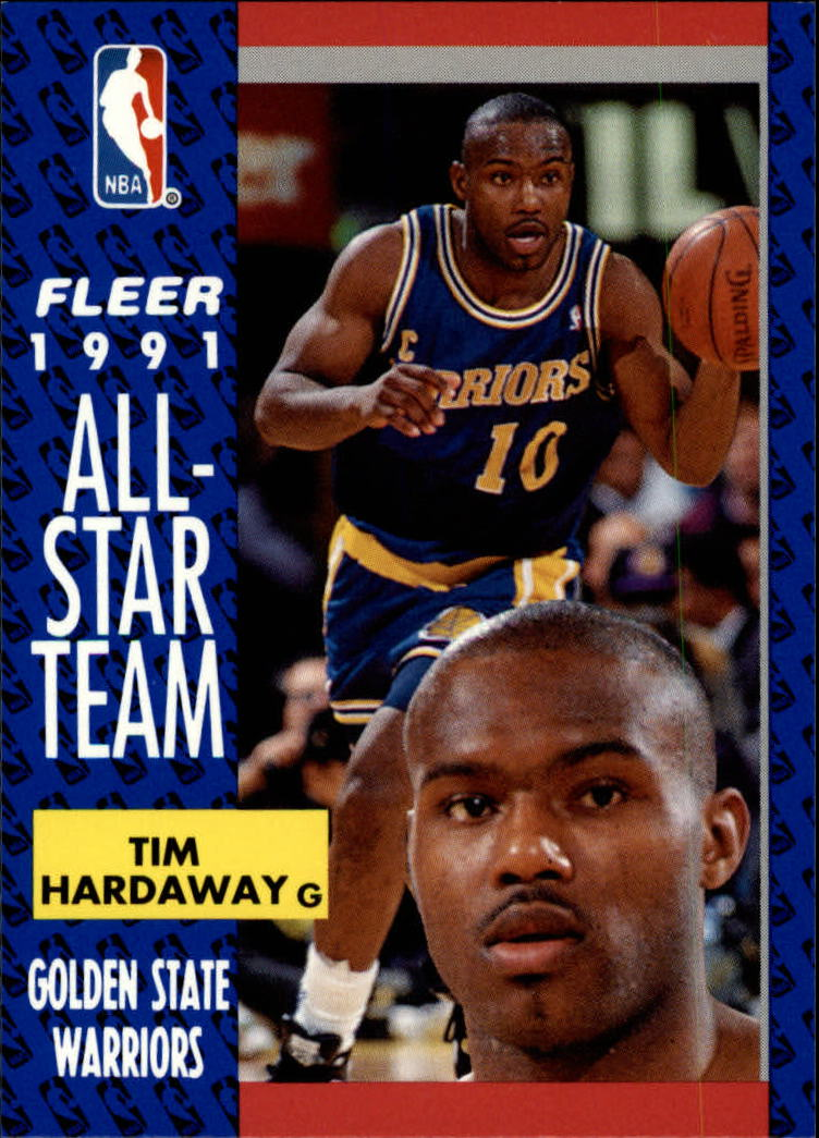 1991-92 Fleer #216 Tim Hardaway AS