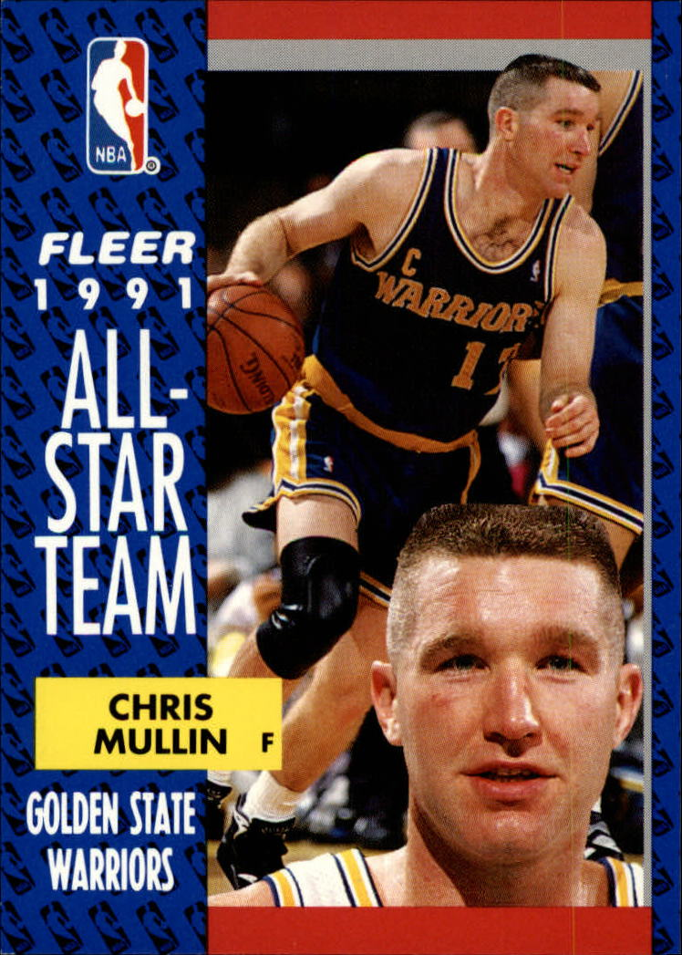 1991-92 Fleer #218 Chris Mullin AS