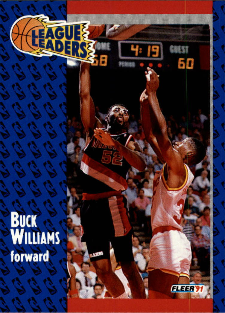 1991-92 Fleer #224 Buck Williams LL