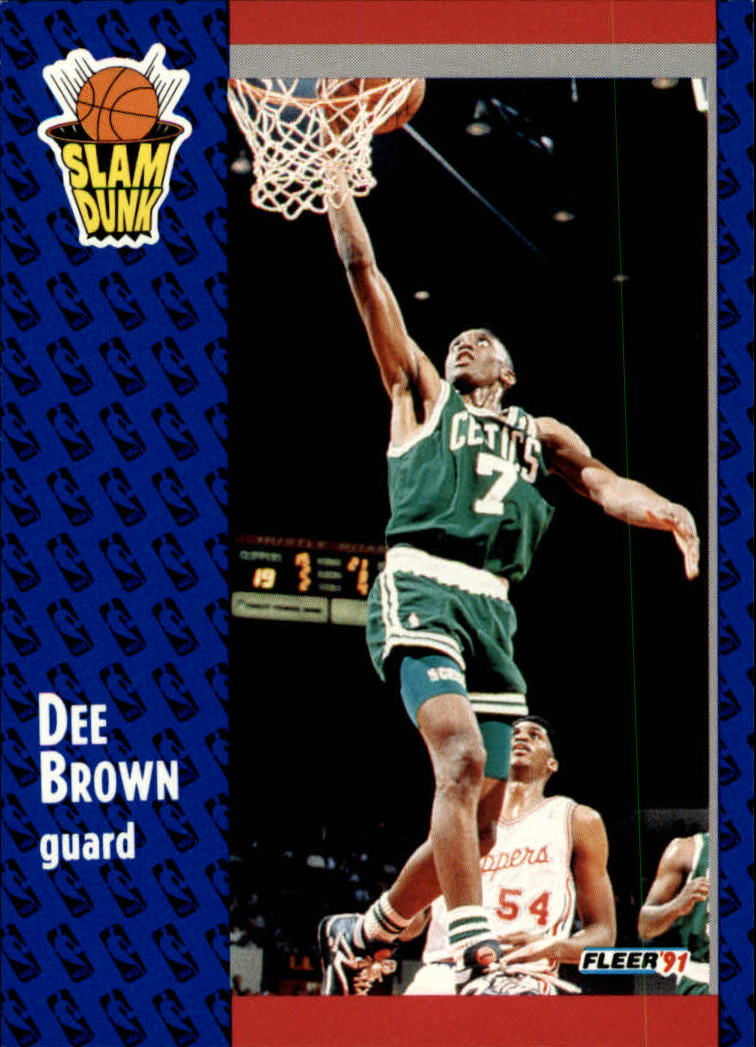 1991-92 Fleer #228 Dee Brown SD