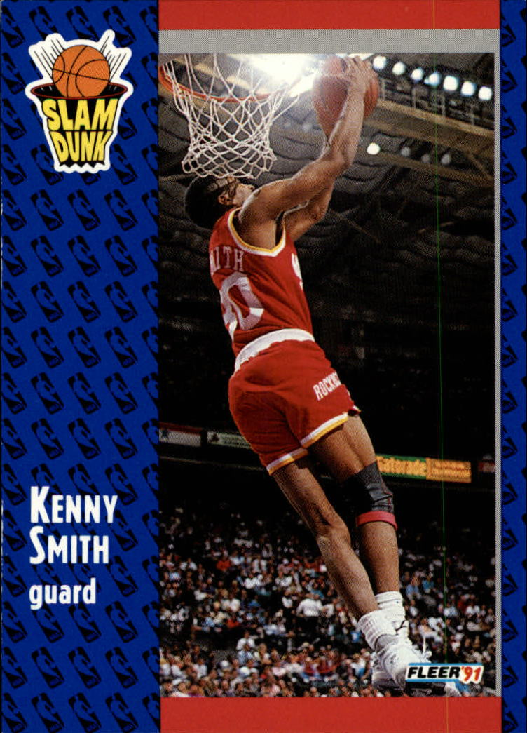 1991-92 Fleer #230 Kenny Smith SD