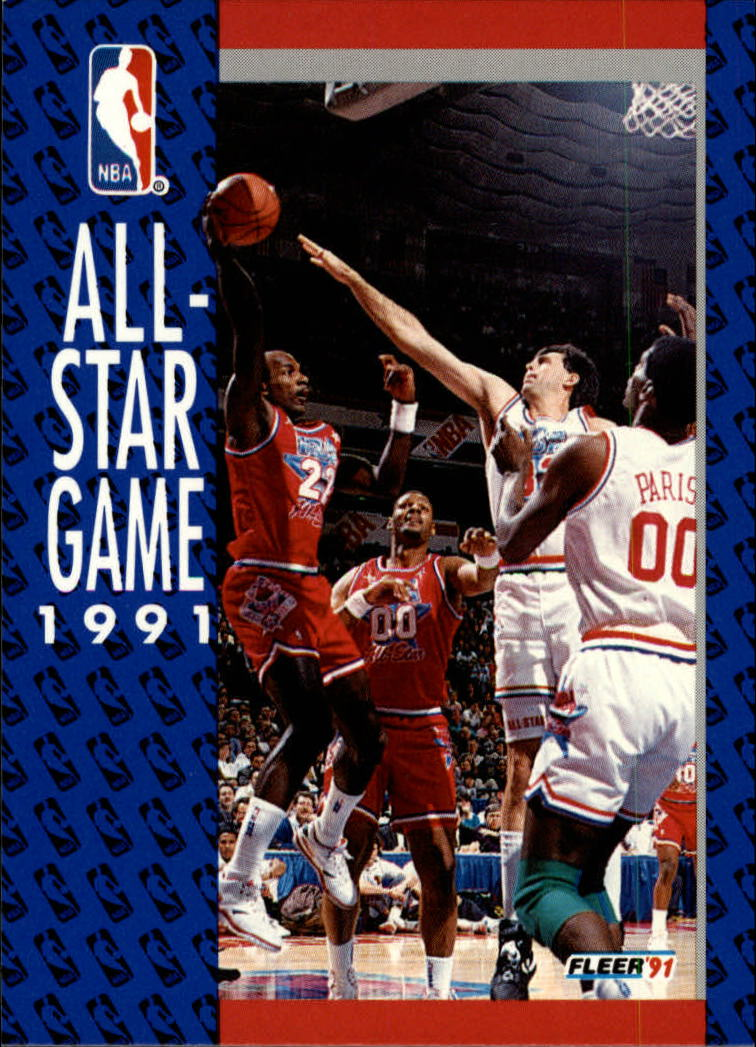 1991-92 Fleer #234 '91 All Star Game