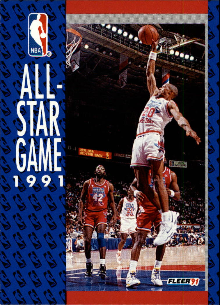 1991-92 Fleer #235 '91 All Star Game