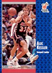 1991-92 Fleer #306 Alec Kessler