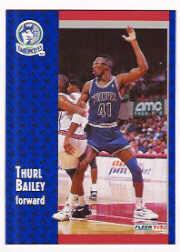 1991-92 Fleer #316 Thurl Bailey