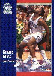 1991-92 Fleer #319 Gerald Glass