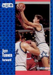 1991-92 Fleer #332 Jeff Turner