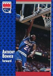 1991-92 Fleer #347 Anthony Bonner