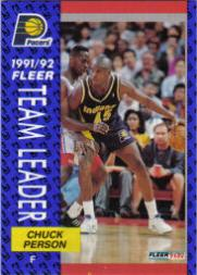 1991-92 Fleer #382 Chuck Person TL