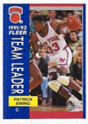 1991-92 Fleer #389 Patrick Ewing TL