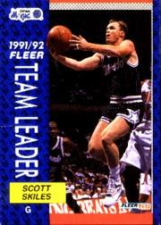 1991-92 Fleer #390 Scott Skiles TL
