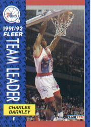 1991-92 Fleer #391 Charles Barkley TL