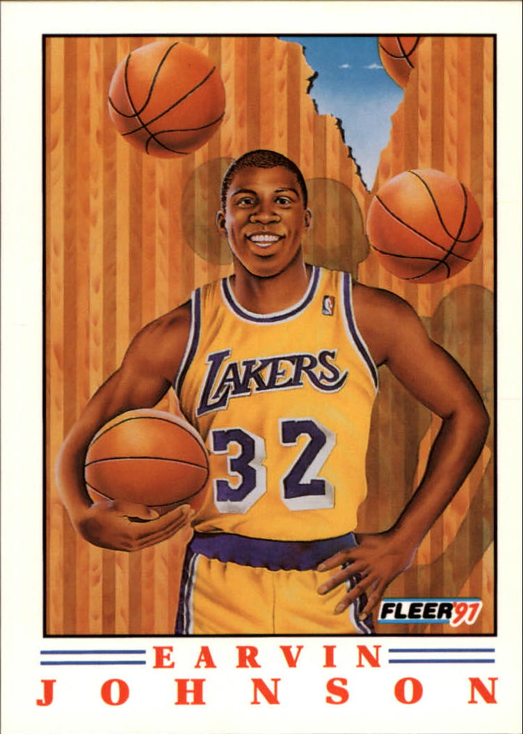 1991-92 Fleer Pro-Visions #6 Magic Johnson