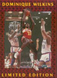 1991-92 Fleer Dominique Wilkins #11 Dominique Wilkins