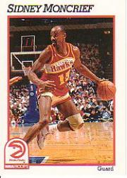 1991-92 Hoops #3 Sidney Moncrief