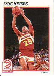 1991-92 Hoops #4 Doc Rivers