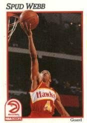 1991-92 Hoops #6 Spud Webb