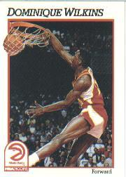 1991-92 Hoops #7 Dominique Wilkins